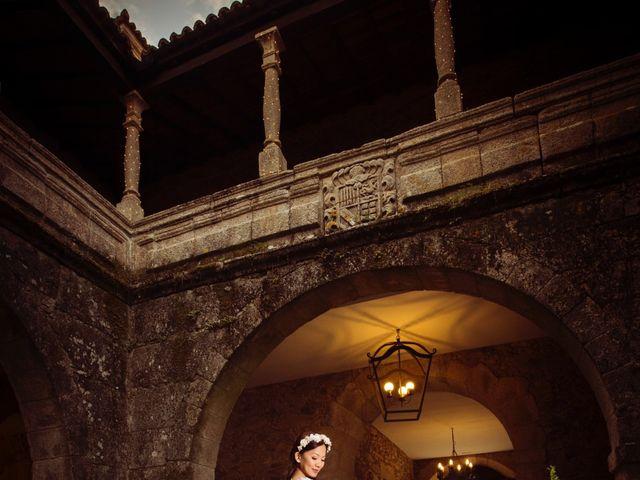 La boda de Adrián y Ying en San Tirso (Mens), A Coruña 37