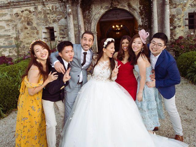 La boda de Adrián y Ying en San Tirso (Mens), A Coruña 41