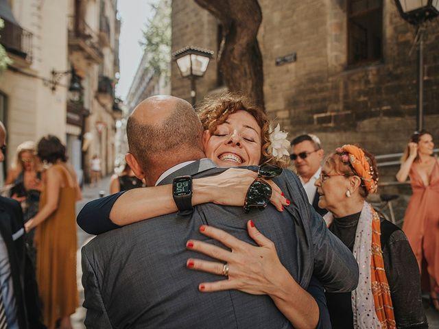 La boda de Francesco y Maritxell en Terrassa, Barcelona 8