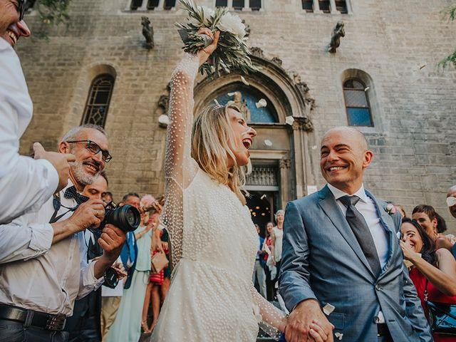 La boda de Francesco y Maritxell en Terrassa, Barcelona 25