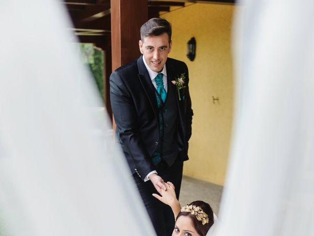 La boda de Alejandro y Lorena en Chinchon, Madrid 1