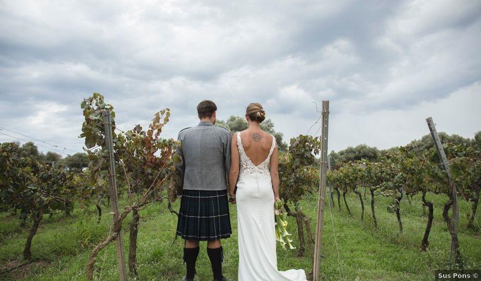 La boda de Lewis y Nikki en Sant Lluís, Islas Baleares