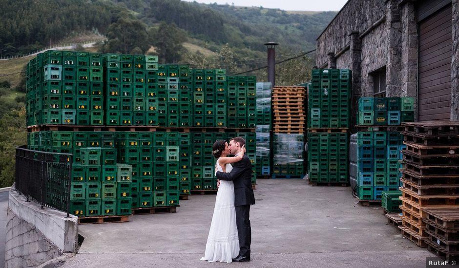 La boda de Marcos y Nuria en Gijón, Asturias