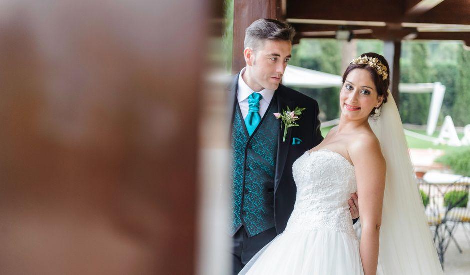 La boda de Alejandro y Lorena en Chinchon, Madrid