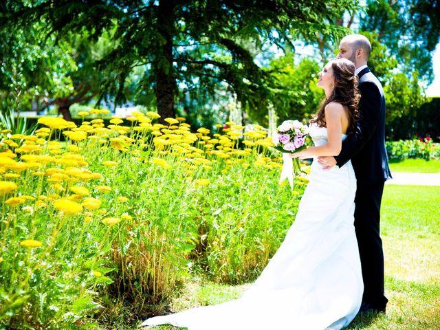 La boda de Iria y David