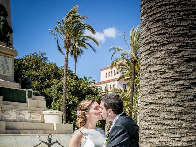La boda de Virginia y Gustavo en Cartagena, Murcia 14