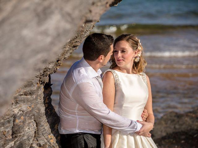 La boda de Virginia y Gustavo en Cartagena, Murcia 31