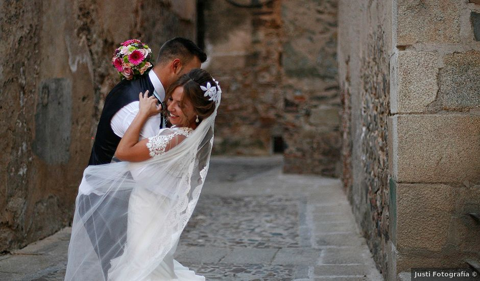 La boda de David y Maria en Cáceres, Cáceres