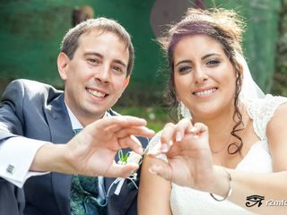 La boda de Naiara y Richard