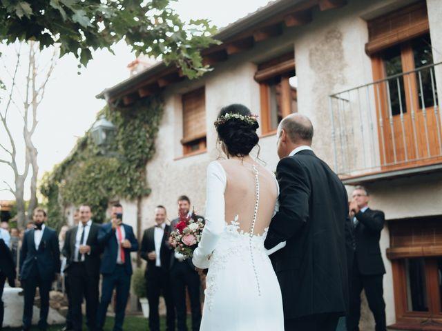 La boda de Jorge y Cristina en Torrecaballeros, Segovia 34