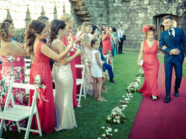 La boda de Edgar y Vanesa en Soutomaior, Pontevedra 21
