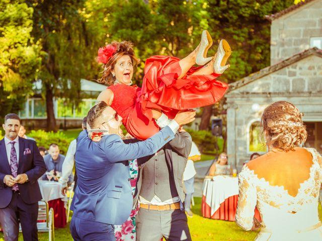 La boda de Edgar y Vanesa en Soutomaior, Pontevedra 41