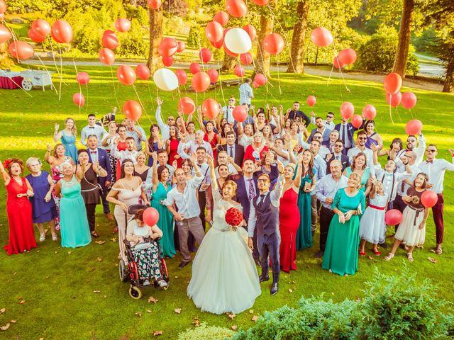 La boda de Edgar y Vanesa en Soutomaior, Pontevedra 44