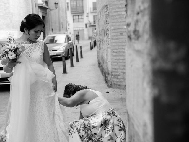 La boda de Adrian y Lina en Bétera, Valencia 38