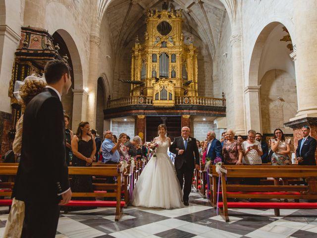La boda de Isabel y David en Beniajan, Murcia 43