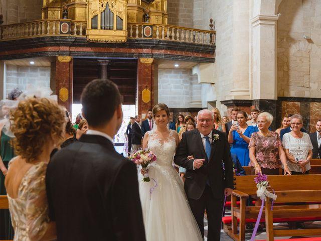 La boda de Isabel y David en Beniajan, Murcia 44