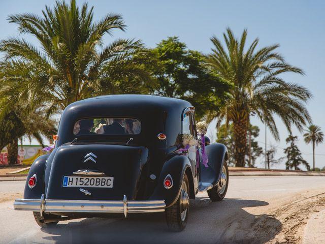 La boda de Isabel y David en Beniajan, Murcia 61