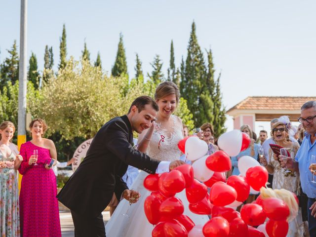 La boda de Isabel y David en Beniajan, Murcia 78