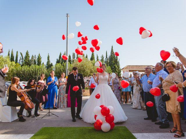 La boda de Isabel y David en Beniajan, Murcia 79