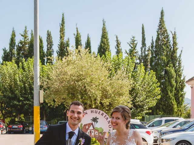 La boda de Isabel y David en Beniajan, Murcia 82
