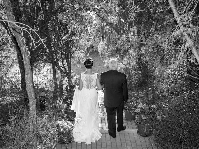 La boda de Iosu y Eva en San Agustin De Guadalix, Madrid 1