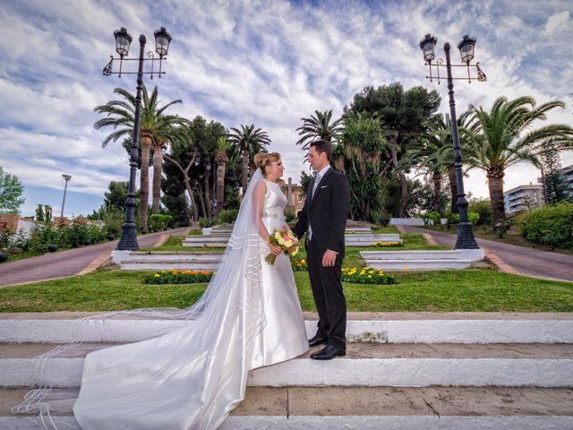 La boda de Candela y Andrés