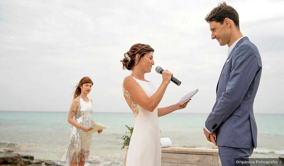 La boda de Eva y Ivan en Sant Francesc De Formentera, Islas Baleares