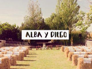 La boda de Alba y Diego 1