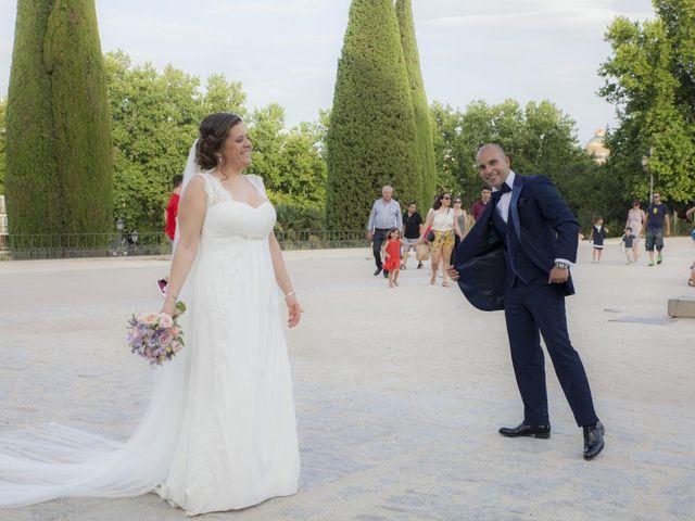 La boda de Daniel y Cristina en Las Rozas De Madrid, Madrid 122