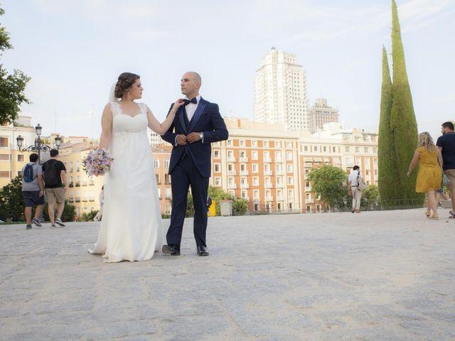 La boda de Daniel y Cristina en Las Rozas De Madrid, Madrid 123