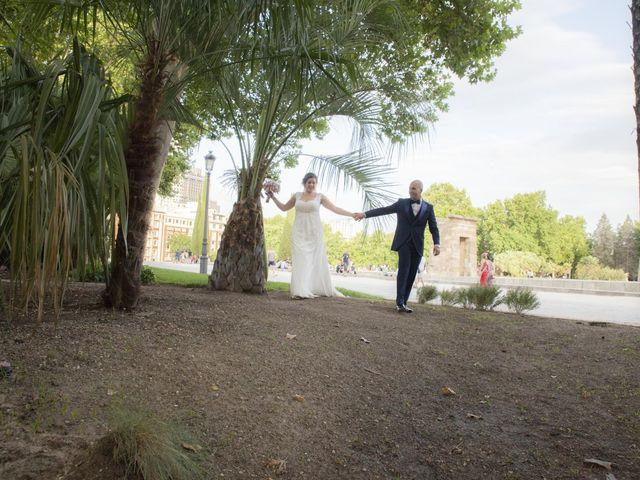 La boda de Daniel y Cristina en Las Rozas De Madrid, Madrid 125