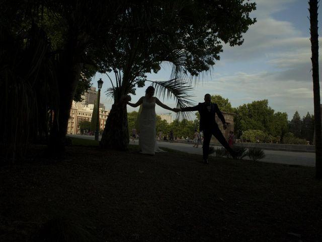La boda de Daniel y Cristina en Las Rozas De Madrid, Madrid 126