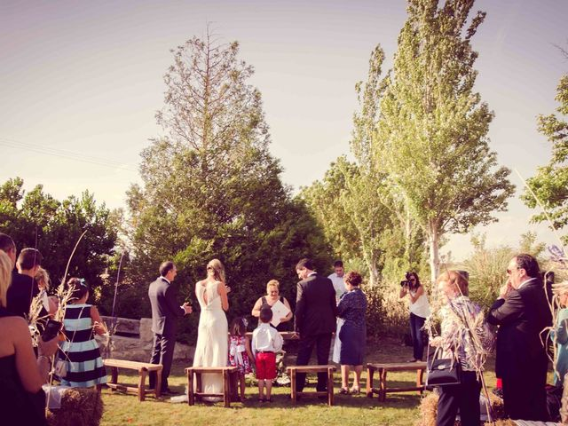 La boda de Diego y Alba en Santa Gadea Del Cid, Burgos 13