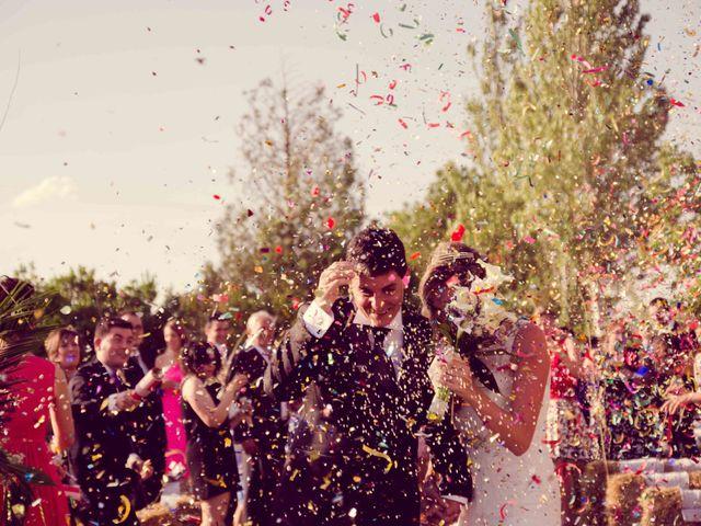 La boda de Diego y Alba en Santa Gadea Del Cid, Burgos 16