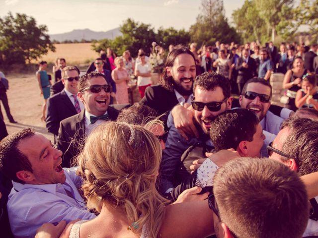 La boda de Diego y Alba en Santa Gadea Del Cid, Burgos 19