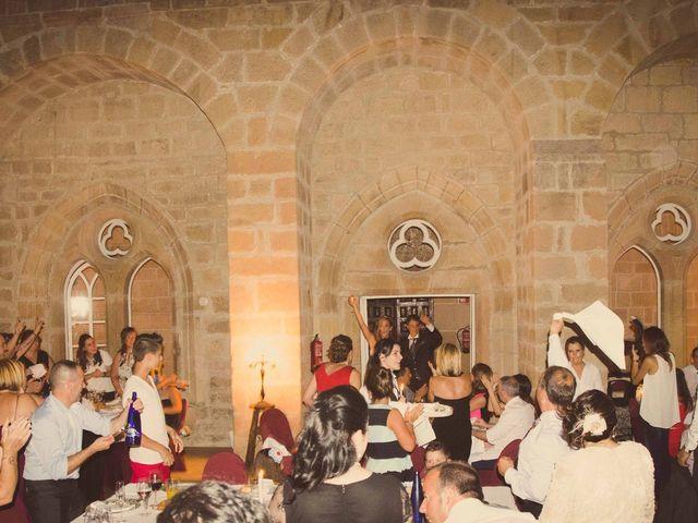 La boda de Diego y Alba en Santa Gadea Del Cid, Burgos 30