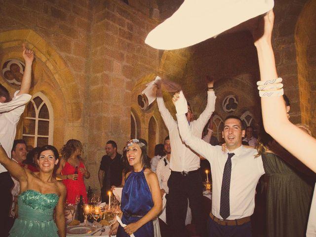 La boda de Diego y Alba en Santa Gadea Del Cid, Burgos 32