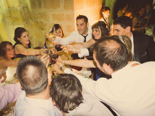 La boda de Diego y Alba en Santa Gadea Del Cid, Burgos 35