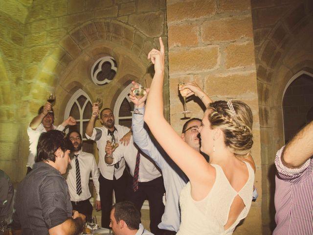 La boda de Diego y Alba en Santa Gadea Del Cid, Burgos 36