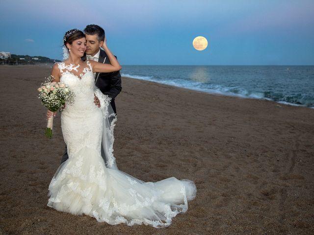 La boda de Jose Maria y Aurora en Canet De Mar, Barcelona 1