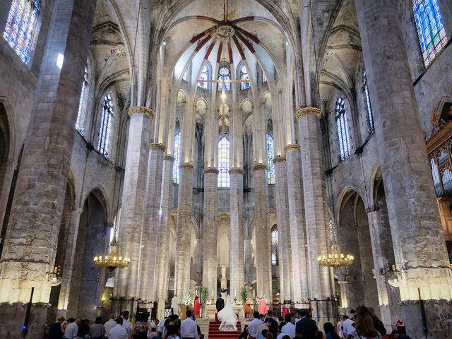 La boda de Joan y Blanca en Sant Fost De Campsentelles, Barcelona 7