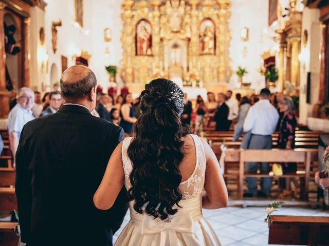 La boda de Iván y Andrea en Niguelas, Granada 12