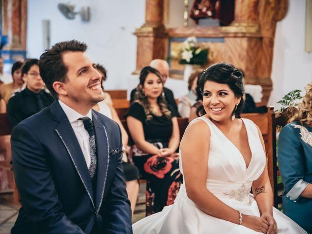 La boda de Iván y Andrea en Niguelas, Granada 13