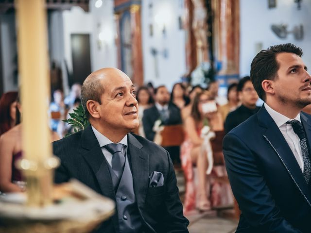 La boda de Iván y Andrea en Niguelas, Granada 14