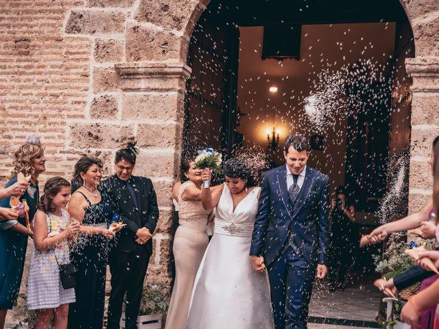 La boda de Iván y Andrea en Niguelas, Granada 17