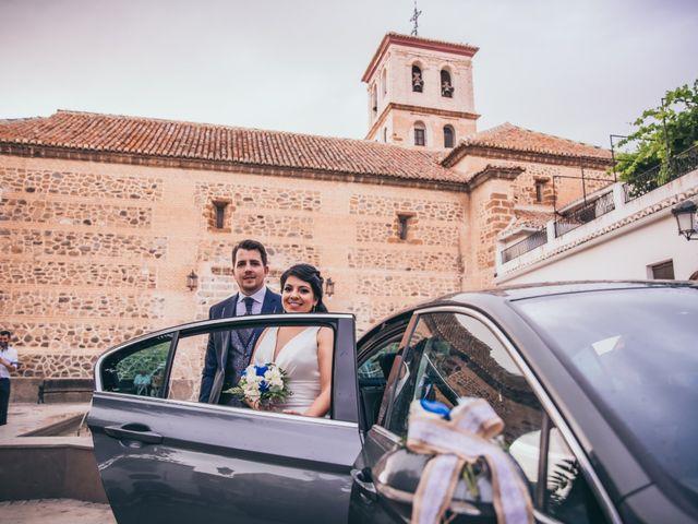 La boda de Iván y Andrea en Niguelas, Granada 19