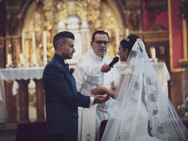 La boda de Mª del Mar y Samuel en Alhaurin De La Torre, Málaga 40