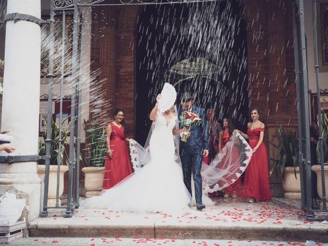 La boda de Mª del Mar y Samuel en Alhaurin De La Torre, Málaga 45