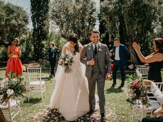 La boda de Imene y Borja