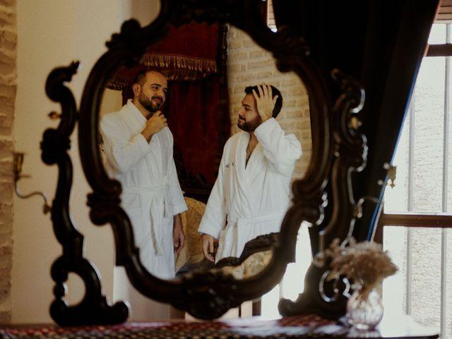 La boda de Jesús y José en Fuentes De Andalucia, Sevilla 9